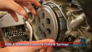 Step 3: Remove Presure Plate & Springs