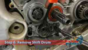 Step 6: Remove Shift Drum