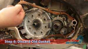 Step 6: Discard Old Gasket
