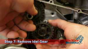 Step 7: Remove Idle Gear
