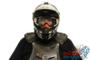 Chest Protector Without Neck Brace Front
