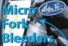 Motion Pro Micro Fork Bleeder Valves