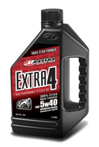 Maxima Extra 4 5w-40 4-stroke oil 2-Stroke vs 4-Stroke Motorcycle Oil