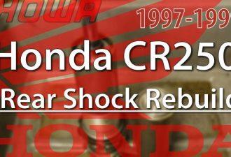 1997 - 1999 Honda Cr250 Rear Shock Rebuild featured 1