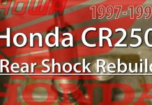 1997 - 1999 Honda Cr250 Rear Shock Rebuild featured 1