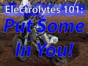 Rider Nutrition: What Are Electrolytes And Why Are They Important