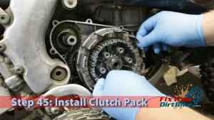 Step 45: Install Clutch Pack