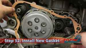 Step 52: Install New Gasket