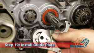 Step 19: Install Guide Plate