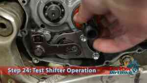 Step 24: Test Shifter Operation