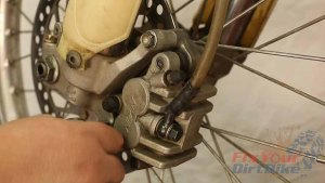 Step 11 - Install the brake caliper.