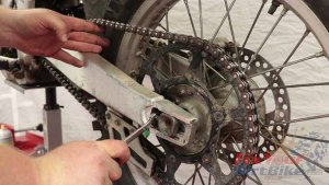 Step 13 - Return Chain Adjustment Bolts