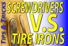 How To Change Your Dirt Bike Tire - Screwdrivers vs Tire Irons -