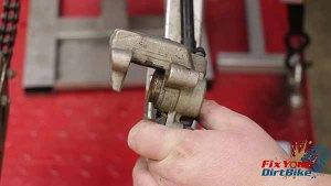 Removal - Pump Piston From Caliper 1