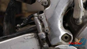 Removal - Master Cylinder Mounting Bolts