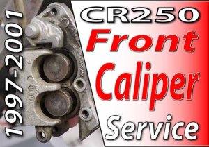 1997 - 2001 Honda CR250 - How To Change Front Wheel Bearings Fea