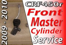 2009 - 2010 Honda CRF450r - Front Master Cylinder Service Featured