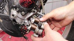 2009-2010 Honda CRF450r - Brakes - Even Pistons