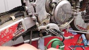 Remove Brake Lever Spring