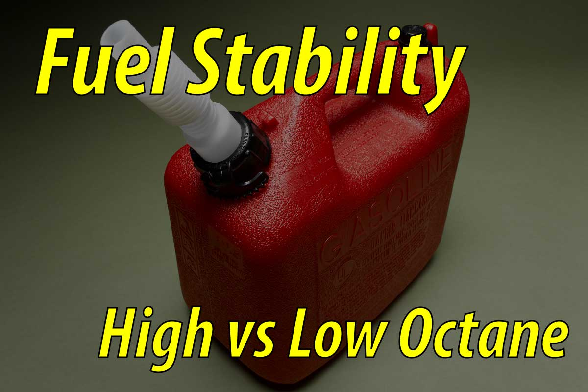 High vs Low Octane Fuel Stability | Fix Your Dirt Bike