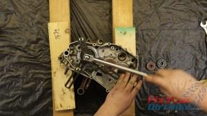 19. Press Crankshaft Out Of Case