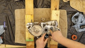 3 - Oil Transmission Bearings With 2-Stroke Oil