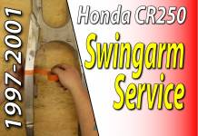 1997 - 2001 Honda CR250 - Swingarm Service - Featured
