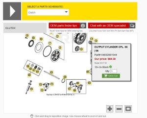 Slave Cylinder OEM Replacement