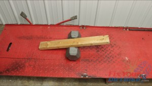 1 - Free Balance Board With 2x4 And Dumbbell