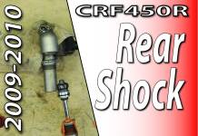2009-2010 Honda CRF450r - Rear Shock Rebuild