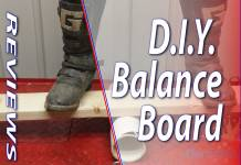 Improve Your Dirt Bike Riding With A DIY Balance Board - Featured