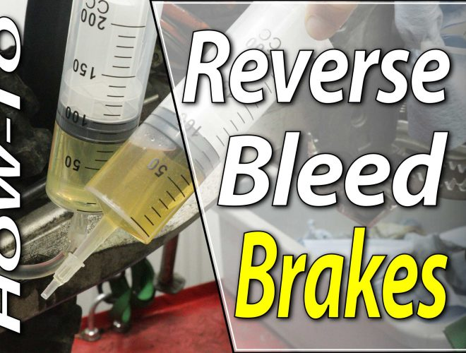How To Reverse Bleed The Brake Systems On Your Dirt Bike - Featured