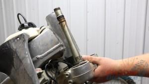 3 - Remove Steering Stem From Steering Head