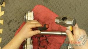 6 - Separate Lower Bearing From Steering Stem