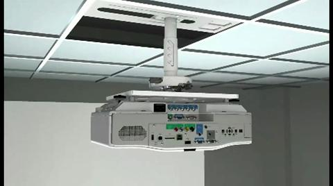 How To Install Epson Projector Ceiling Mount