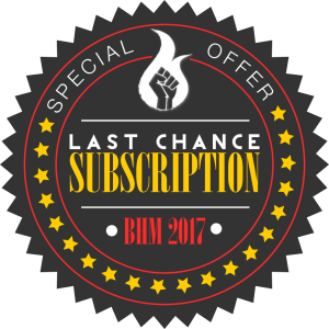 BHM subscription badge