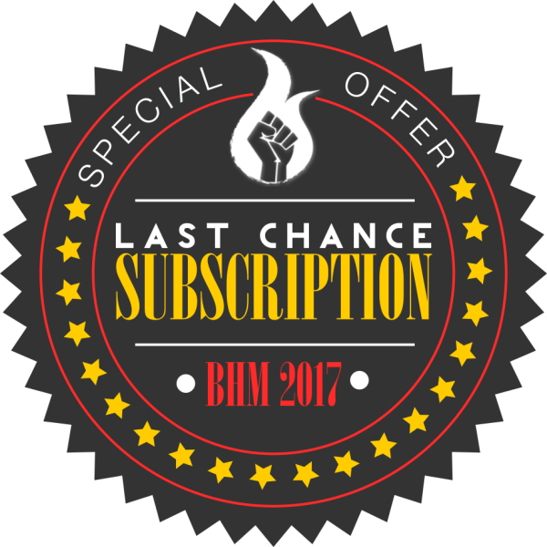 BHM subscription badge