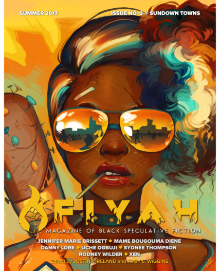 Cover for Sundown Towns Issue of Fiyah