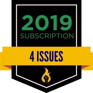2019 Subscription Badge (5 issues)