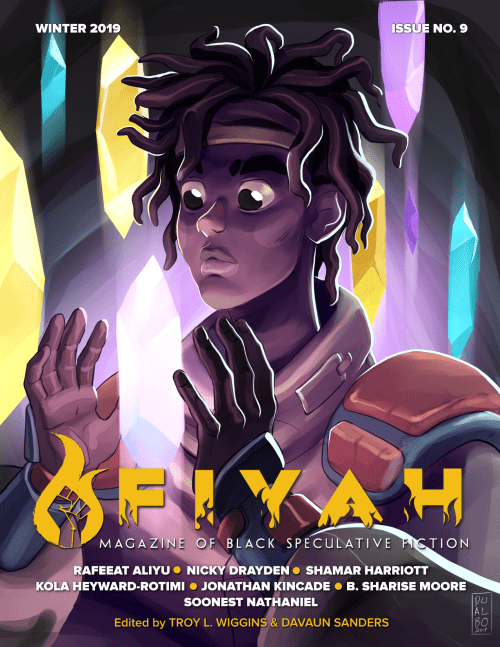 Cover for FIYAH #9