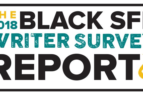 """The 2018 Black SFF Writer Survey Report"" badge"