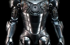 Hot Toys IRON MAN 2 - Mark II Armor Unleashed