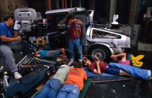 BACK TO THE FUTURE Behind the Scenes Set Photos!