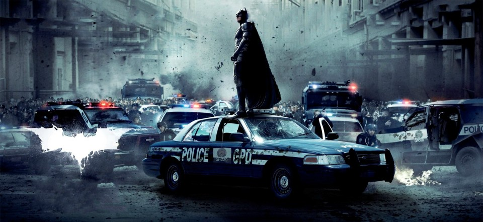 THE DARK KNIGHT RISES Textless Posters and Banners (3)