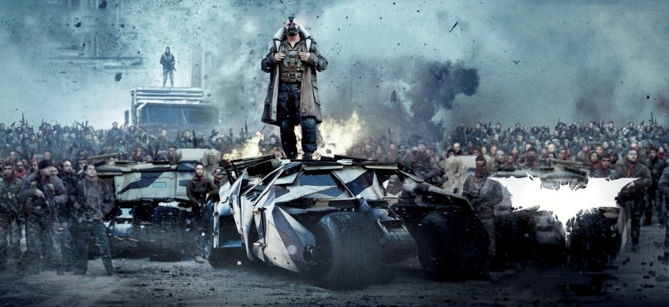 THE DARK KNIGHT RISES Textless Posters and Banners (2)