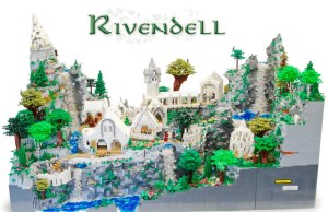 Middle Earth's Rivendell Recreated In 50K LEGO Blocks (8)