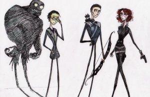 If Tim Burton Made The Avengers (3)