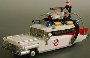 LEGO Ecto-1 by Adam Grabowski