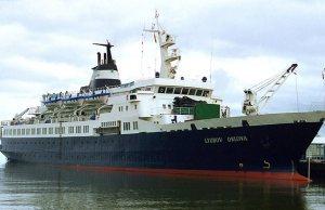 russian ghost ship