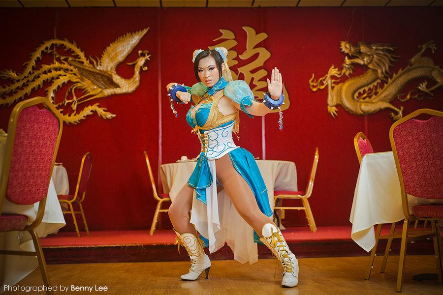 sexy chun li cosplay